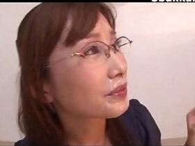 cum porn - Office Lady Glasses Cumshots Japanese