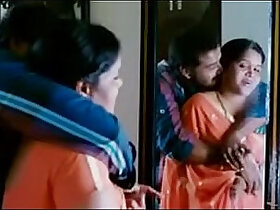 aunty porn - Indian Aunty calling neighbour boyfriend after husband went to office