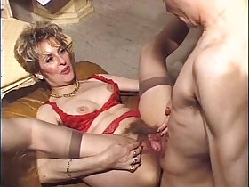 anal porn - Mature hairy anal strapon fuck