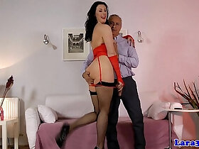 anal porn - Assfucked classy mature anal creampied