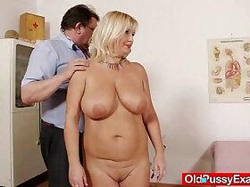 milf porn - Natural tits Milf vagina gyno clinic exam