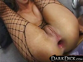 ass porn - Kelly Wells gets her Pussy and Asshole pounded Interracial