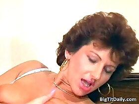 boss porn - Nasty wild MILF sucks on her bosses