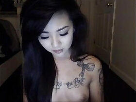 asian porn - omgcambabes.win Pretty Tattoo asian wants your attention!