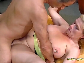 banged porn - extreme pierced stepmom real gang banged
