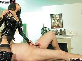 domination porn - Mistress Tangent nipple torment femdom whipping dominatrix